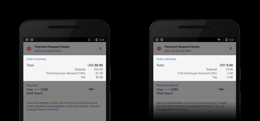 O Google disponibiliza Bitcoins em seu API de pagamento. BTCSoul.com