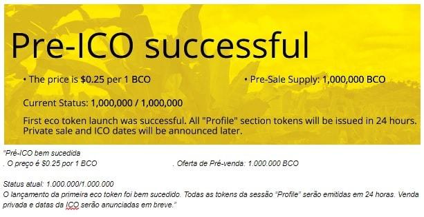 Bananacoin - Fase Pré ICO termina em sucesso. BTCSoul.com