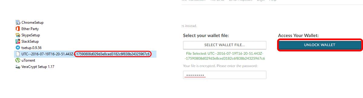 Como usar a My Ether Wallet? BTCSoul.com