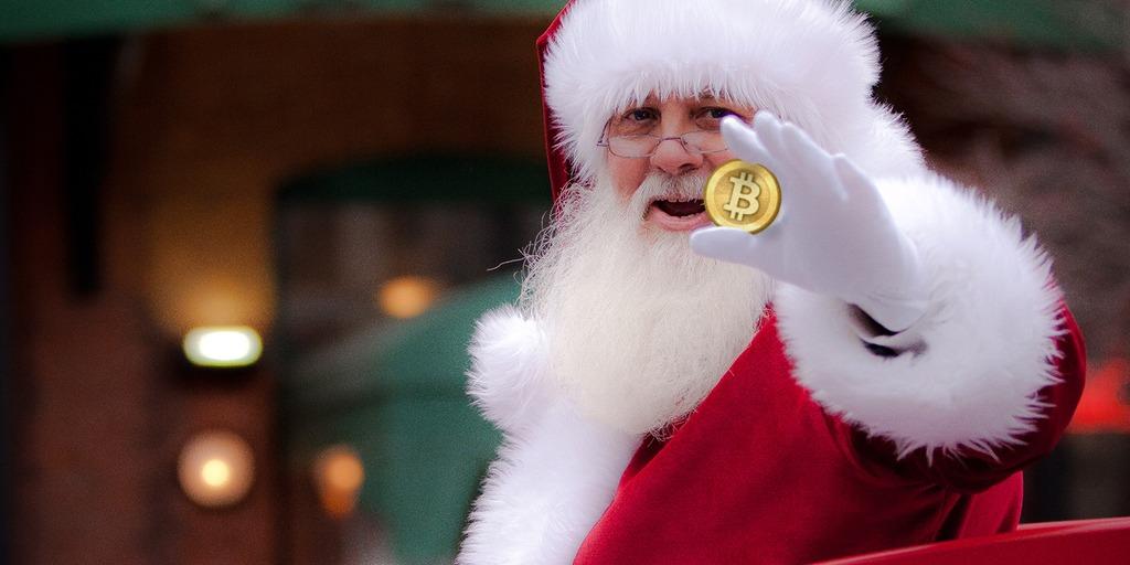 Ho ho ho Papai Noel chegou, esperamos que tenha muitos bitcoins de presente para todos. Dar bitcoins pode ser uma boa pedida esse ano.