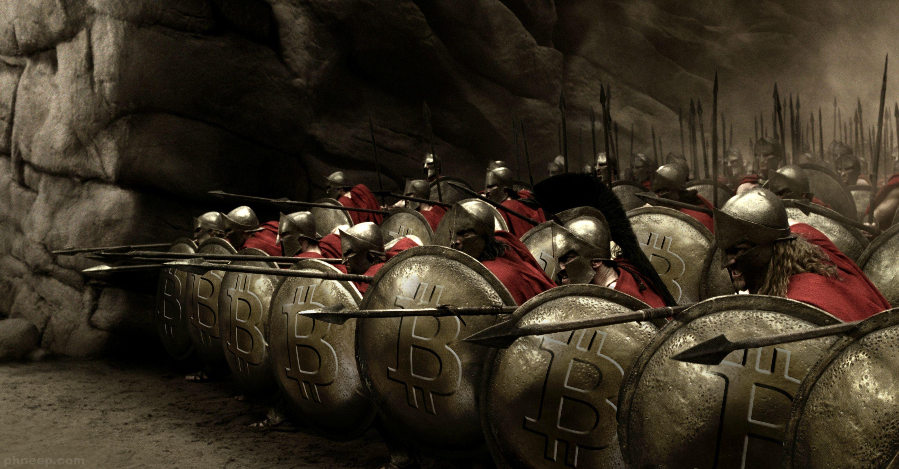 O bitcoin vai a guerra e leva a blockchain a tira colo