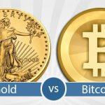 Ouro e bitcoin intimamente ligados