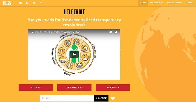 Helperbit e Legambiente transparência em doações, esse poderá ser o melhor legado das blockchains à humanidade, salvar vidas sem perder a fé.