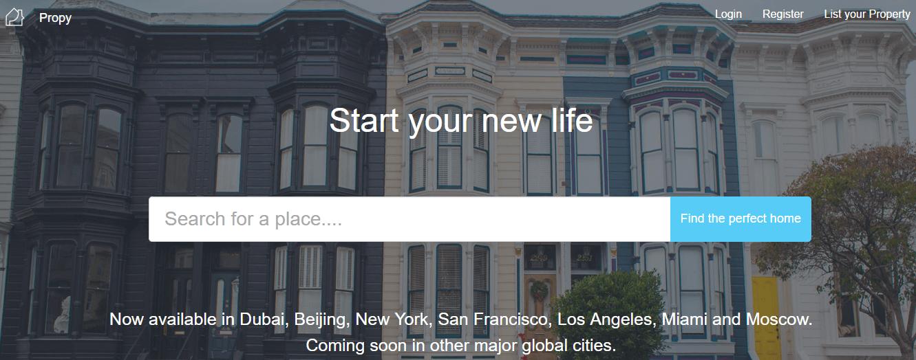A Propy, uma startup de Blockchain com sede na Califórnia, pretende simplificar as vendas de imóveis para corretores e consumidores