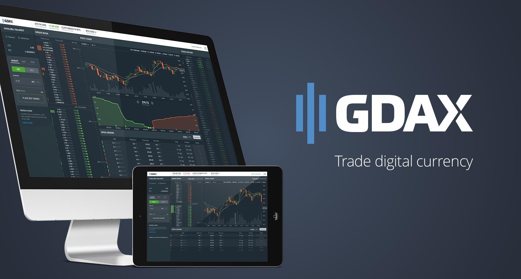 A GDAX (Divisão da Coinbase) adicionou a possibilidade de negociação de margem BTC, ETH e LTC. Isso foi relatado no blog oficial da empresa.