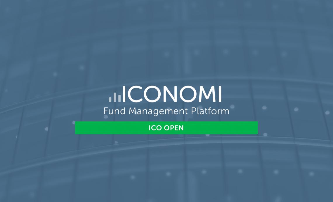 A ICONOMI lançou a Cofound.it, uma plataforma dedicada à incubação de ICOs, que deverá dar apoio e suporte à ICOs selecionadas.