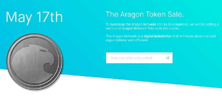 A plataforma de gestão corporativa descentralizada Aragon, sediada na Espanha, decidiu juntar-se à popular corrida de vendas de criptos.