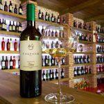 Vinhos italianos processados via Blockchain, autenticidade garantida.