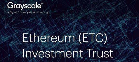 Foi oficialmente lançado o Ethereum Classic Investment Trust, de acordo com uma declaração da Grayscale Investments, divisão de investimento do Digital Currency Group.