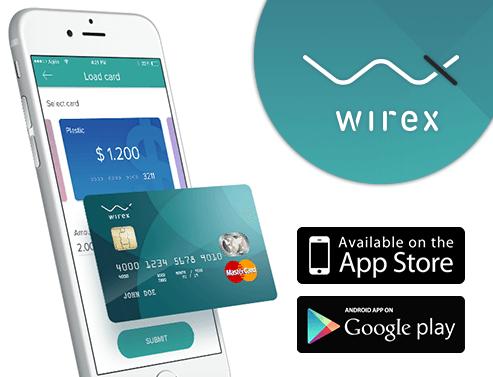 Cartão pré-pago wirex