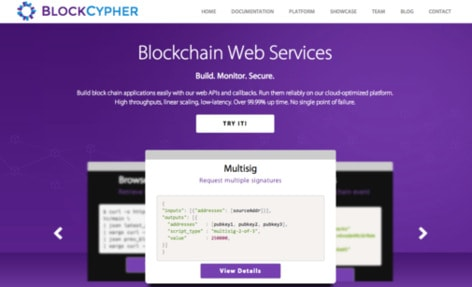 blockchypher dash integracao empresas