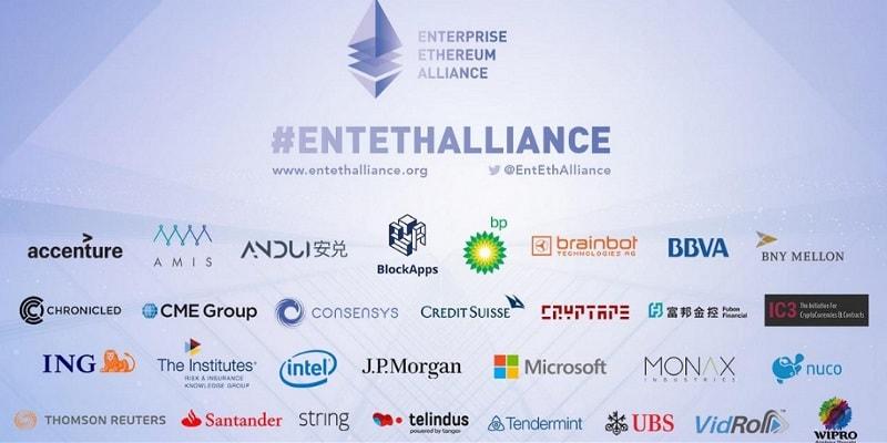 A Ethereum Enterprise Alliance criou grupos de trabalho para introduzir inovações em vários setores da economia.