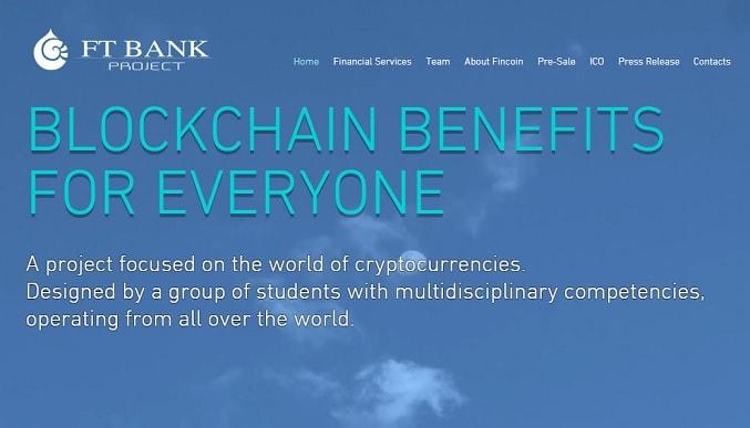 """""""Nós estabelecemos um objetivo para o setor de investimentos em criptografia através do desenvolvimento de uma plataforma capaz de aprimorar os valores que as Blockchains têm para oferecer"""", afirmam os idealizadores do FinTech Bank."""