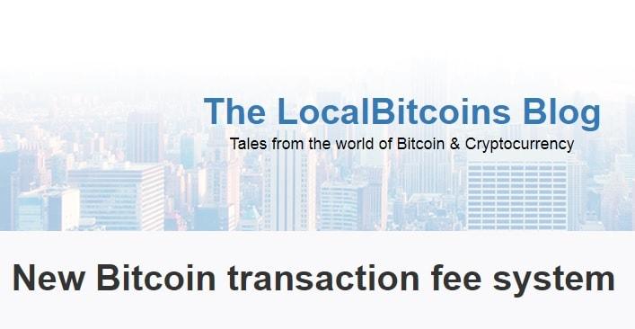 A LocalBitcoins anunciou que está introduzindo taxas de depósito Bitcoin a partir de 21 de junho devido ao aumento das taxas na rede Bitcoin.