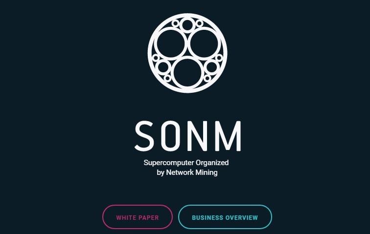 O SONM (Supercomputador Organizado pela Rede de Mineração), o supercomputador universal alimentado pela tecnologia Blockchain, anunciou a sua ICO, que se iniciará no dia 15 de junho de 2017 e deverá ser concluída em 15 de julho de 2017.