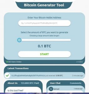 Bitcoin Generator recensioni opinioni e alternative paganti [2021]