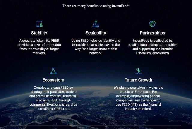 investfeed social market advantages