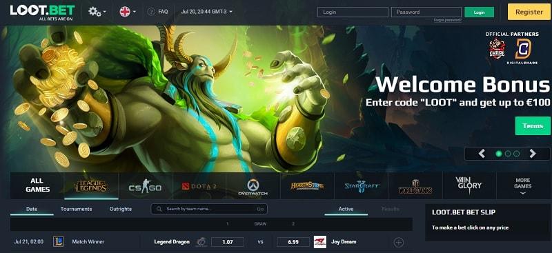 O serviço on-line para e-sports, o Loot.bet anunciou sua intenção de num futuro próximo adicionar o SkinCoin como meio de pagamento.