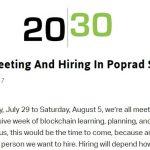 Quer um emprego relacionado com Blockchain e criptos?