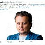 Skincoin anuncia Alexey Burdyko como novo conselheiro