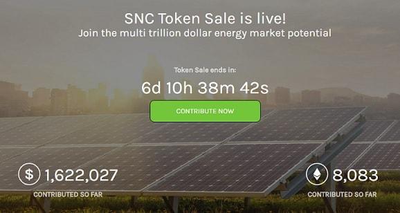 suncontract blockchain energia