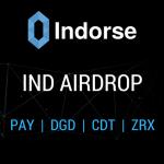 Indorse distribui seus tokens IND de graça