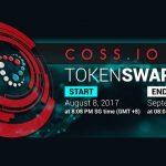 A solução universal de criptomoedas, COSS, começa a venda de seus tokens na próxima semana