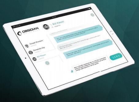 obsidian platform messaging app
