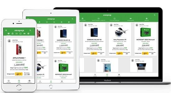 snapup showcase platforms discount ico