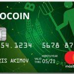 BioCoin nem nasceu ainda e já tem um cartão de debito.