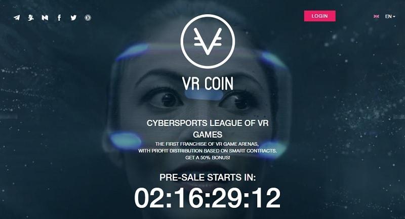 O projeto russo VRCoin lançará uma ICO com o objetivo de desenvolver sua rede internacional de parques de jogos usando suas próprias tecnologias de realidade virtual.