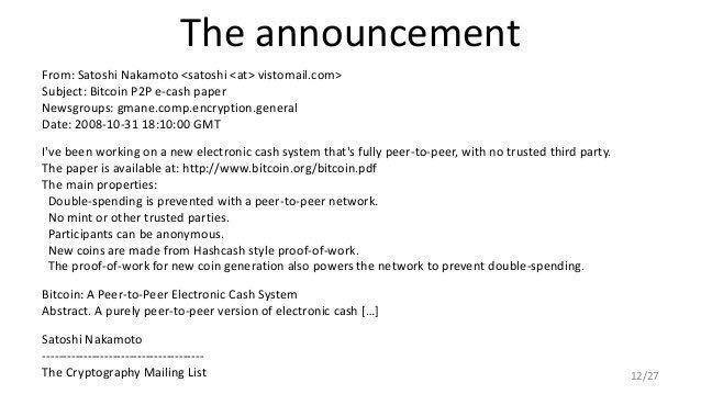 Nove anos da publicação do White Paper do Bitcoin por Satoshi Nakamoto. BTCSoul.com