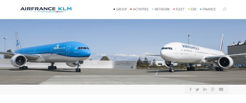 A companhia aérea francesa Air France, juntamente com a Microsoft e a Ramco Aviation, desenvolveram um software para manutenção de aeronaves e discutiram a possibilidade de implementar a tecnologia de Blockchain em suas atividades.