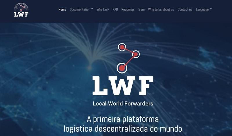 ICO LIVE – LWF.Local World Forwareder, a primeira plataforma descentralizada de logística do mundo. Mude o conceito de logística com P2P e descentralização como o Uber fez com o transporte!