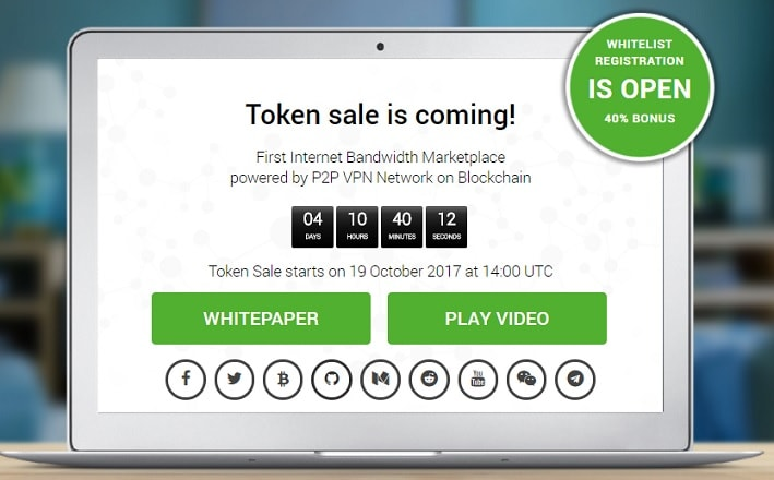 privatix whitelist token sale