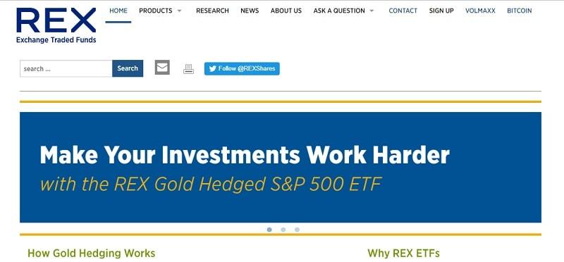 A REX ETF, uma empresa sediada em Connecticut – EUA, abandonou a ideia de criar um ETF - fundo de criptomoedas negociáveis na bolsa de valores.