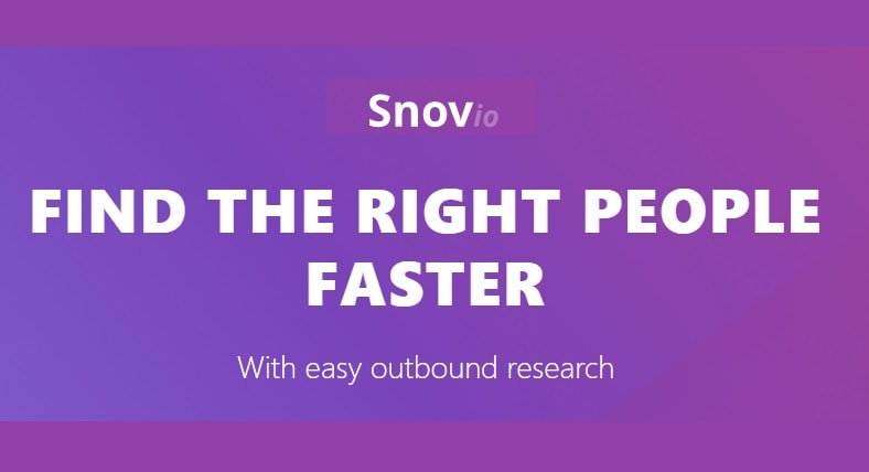 snovio lead generation blockchain