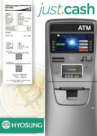 O conglomerado industrial sul-coreano Hyosung – também envolvido na produção de caixas eletrônicos – adicionou a possibilidade de comprar Bitcoins em seus dispositivos (ATMs).