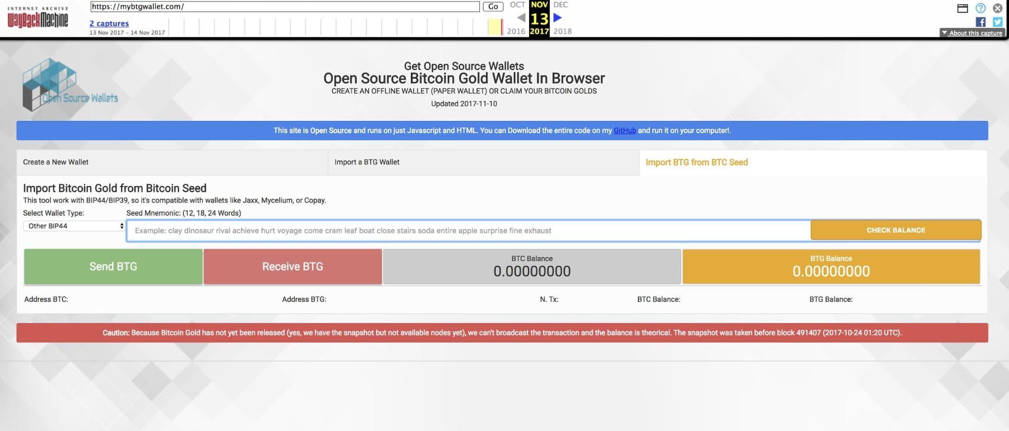 Usuários do Bitcoin Gold perdem mais de US$ 2,5 milhões e acusam equipe do projeto de fraude. BTCSoul.com