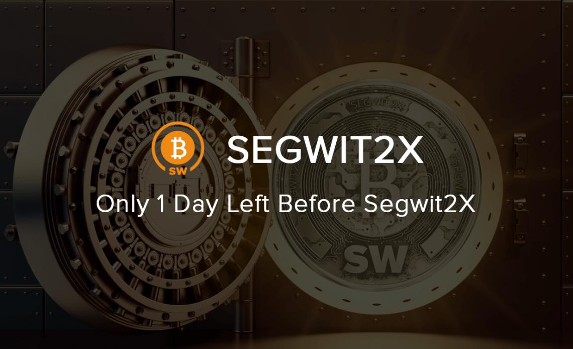 Um dos principais hard forks na história do Bitcoin, conhecido como Segwit2X, será lançado em 28 de dezembro de 2017, mais precisamente no bloco 501451. Inicialmente ele estava agendado para acontecer no meio de novembro, mas a data terminou por ser redefinida.