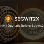 Falta apenas 1 dia para o Hard Fork do Bitcoin Segwit2x