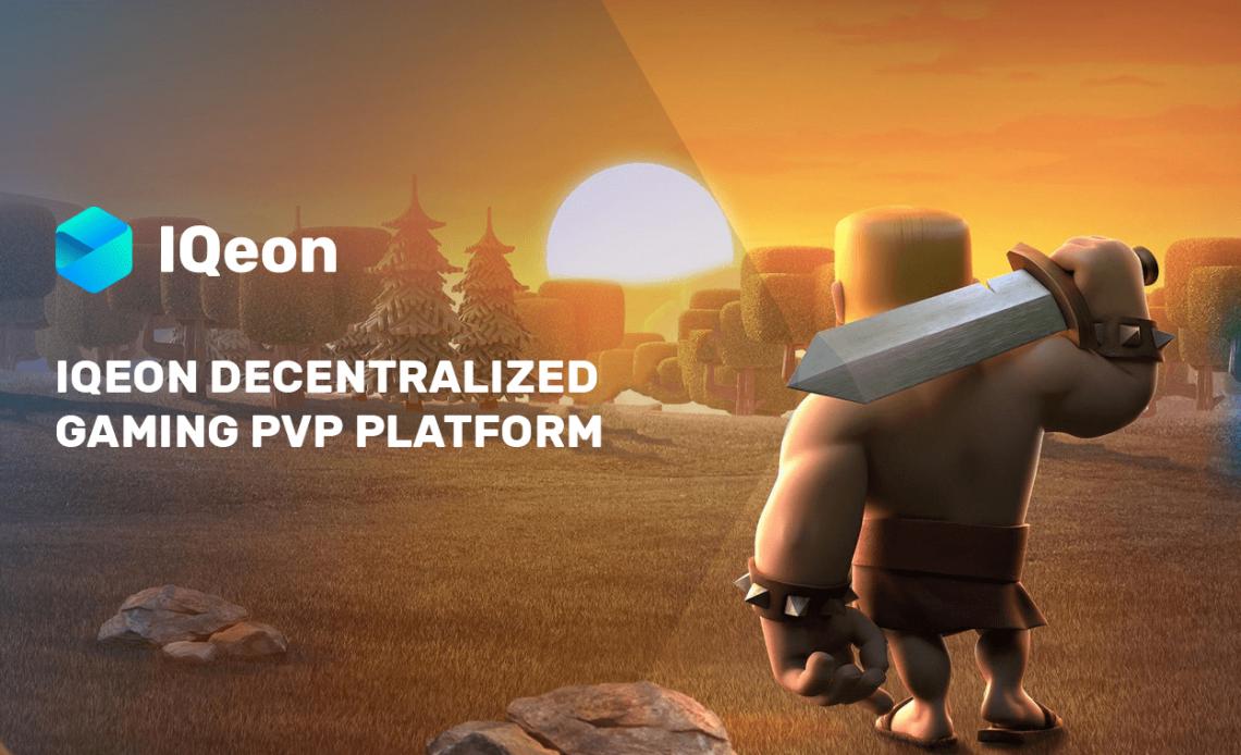 om o lançamento plataforma descentralizada de jogos PvP, IQeon, gamers têm a oportunidade de receber por suas conquistas ingame, sacar vitórias e gastá-las a seu bel prazer.