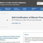 CFTC lança recurso de informação para investidores de Bitcoin