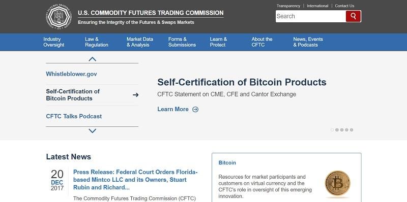 A US Futures Trading Commission (CFTC) lançou um recurso educacional sobre moedas digitais e futuros com base nelas.