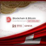 Em 21 de janeiro de 2018, Geneva (Suíça) hospedará a Conferência Blockchain & Bitcoin pela primeira vez
