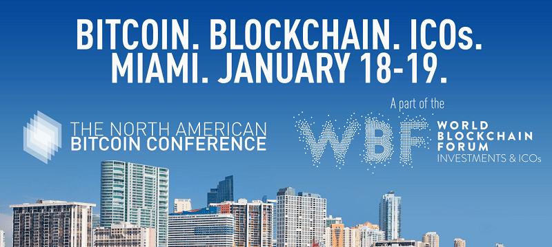 Os organizadores da conferência A North American Bitcoin Conference (TNABC) – que será realizada entre os dias 18 e 19 de janeiro em Miami – deixaram de aceitar pagamentos de ingressos em Bitcoin e outras criptomoedas.