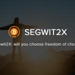 Fork Segwit2X lançado com êxito em 28 de dezembro