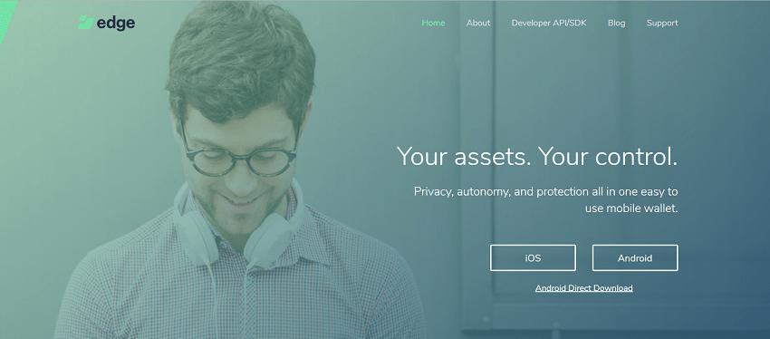 Os desenvolvedores da carteira móvel de criptomoedas Edge (anteriormente Airbitz Wallet) anunciaram o lançamento oficial do produto, que oferece suporte para ativos como Bitcoin, Ethereum, Litecoin, Bcash, Augur e Wings.