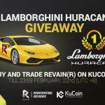 Revain anuncia competição por Lamborghini Huracan Coupe