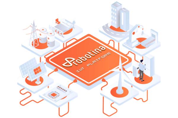Robotina é uma empresa eslovena, fundada em 1990 e intensamente focada no aspecto inovador da automação e controle de tecnologias. Utilizando seu hardware próprio para Internet das Coisas (IoT), software de nuvem e outras soluções tecnológicas, a empresa provou qualidade ímpar em diferentes serviços através de várias indústrias.